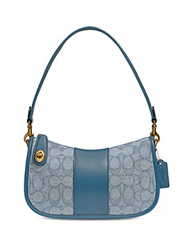 COACH - Swinger Small Signature Jacquard Handbag