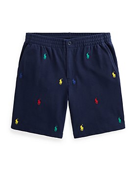 Ralph Lauren - Boys' Prepster Embroidered Shorts - Little Kid, Big Kid