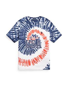 Ralph Lauren - Boys' Team USA Tie Dye Tee - Little Kid, Big Kid