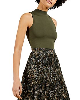 Ted Baker - Printed Pleated Midi Dress