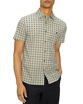 Ted Baker - Mid Scale Geo Print Shirt