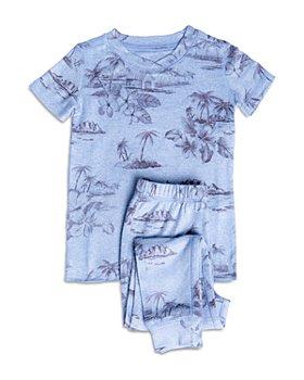 PJ Salvage - Unisex Tropical-Print Pajama Set - Little Kid, Big Kid