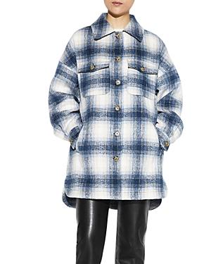 Apparis Shirts DEBRA PLAID SHIRT JACKET