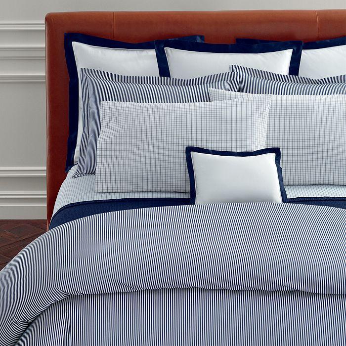Ralph Lauren - Organic Shirting Stripe Bedding Collection