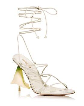 Cult Gaia - Women's Cali Ankle-Tie High Heel Sandals