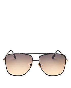 Tom Ford - Women's Reggie Brow Bar Aviator Sunglasses, 61mm