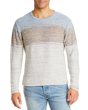 Ombre Knit Linen Sweater