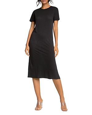 Side Slit Shift Dress