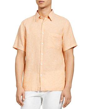 Theory - Irving Linen Button Down Shirt