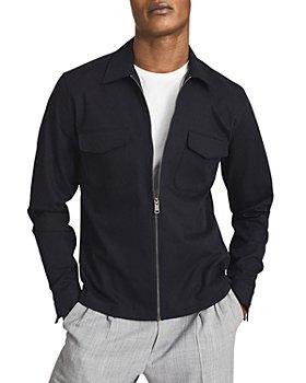 REISS - Gemini Zip Front Overshirt