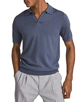 REISS - Duchie Open Collar Regular Fit Polo Shirt