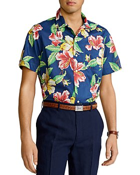 Polo Ralph Lauren - Floral Print Classic Fit Camp Shirt