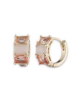 Ralph Lauren - Multi Stone Huggie Hoop Earrings