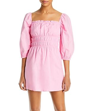 Boheme Smocked Mini Dress