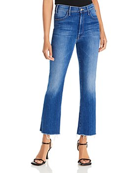 MOTHER - The Hustler Ankle-Length Frayed Jeans in Balls of Yarn