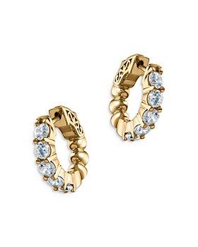 Bloomingdale's - Diamond Huggie Hoop Earrings in 14K Yellow Gold, 1.50 ct. t.w. - 100% Exclusive