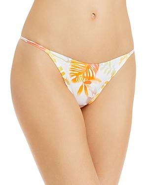 L*Space Jay Printed Bikini Bottom