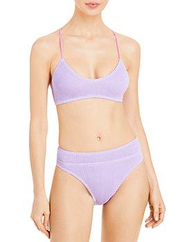 bond-eye - The Selena Bikini Top & The Savannah Textured Bikini Bottom