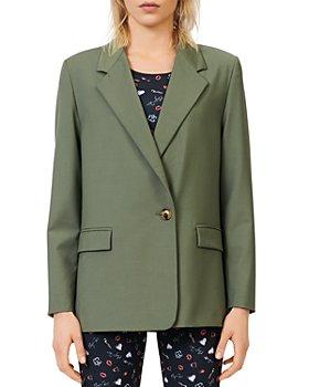 Maje - Vasta Wool Suit Jacket