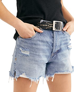 Free People - Makai Cutoff Denim Shorts in Twist & Shout