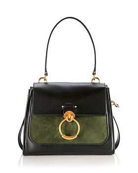 Chloé - Tess Suede & Leather Day Bag