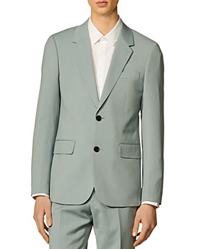 Sandro - Formal Storm Wool Suit Jacket