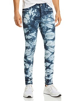 Purple Brand - Indigo Lapis Marble Skinny Jeans