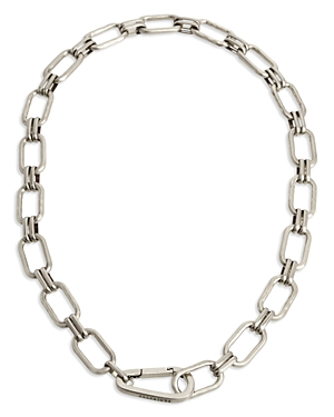 Hammered Link Necklace