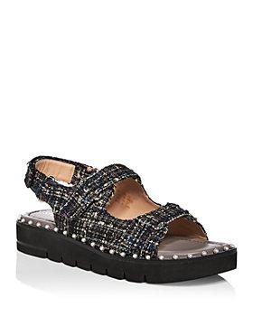 Stuart Weitzman - Women's Zoe Lift Slingback Sandals