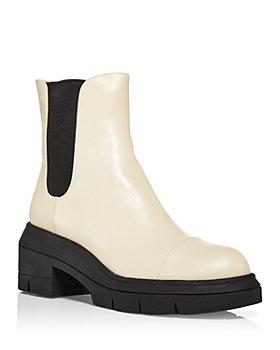 Stuart Weitzman - Women's Norah Platform Block Heel Chelsea Boots
