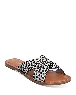 Women's Woven Crisscross Slide Sandals