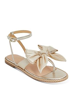 Women's Heidi Satin Bow Thong Sandals