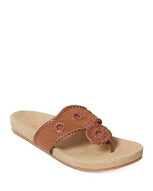 Women's Comfort Jacks Thong Slide Sandals