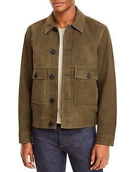 Vince - Nubuck Button Front Jacket