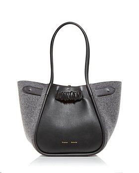 Proenza Schouler - Large Felted Ruched Tote