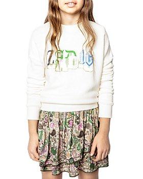 Zadig & Voltaire - Hailey Graphic Sweatshirt - Little Kid, Big Kid