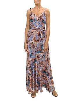 Sam Edelman - Palm Print Maxi Dress
