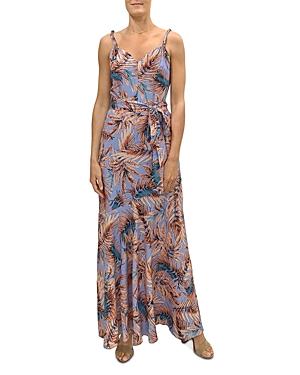 Sam Edelman Palm Print Maxi Dress