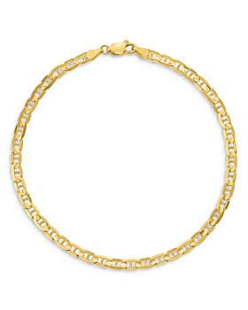 """Bloomingdale's - Men's Anchor Link Chain Necklace in 14K Yellow Gold, 20"""" - 100% Exclusive"""
