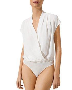 ASTR the Label - Wrap Front Bodysuit