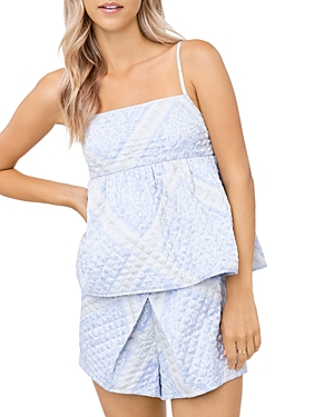 Quilted Bandana Print Camisole