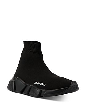 Balenciaga - Women's Speed Clear Sole Knit High Top Sneakers