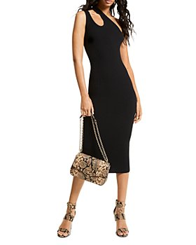 MICHAEL Michael Kors - One Shoulder Cutout Dress