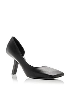 Balenciaga - Women's Void Square Toe d'Orsay Pumps