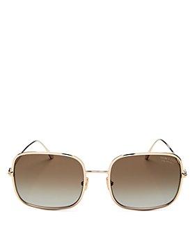 Tom Ford - Women's Keira Polarized Square Sunglasses, 58mm