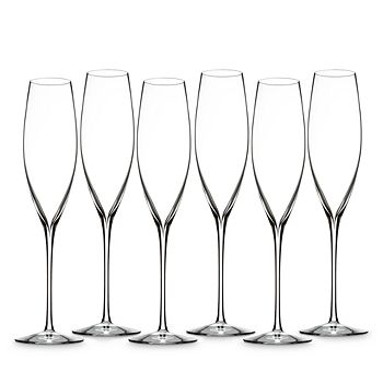 Waterford - Elegance Classic Champagne Toasting Flutes, Set of 6