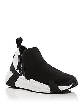 Moncler - Women's Compassor Low Top Zip Sneakers
