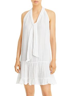 Sundays Elisa Cotton Tie Neck Dress