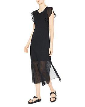 Theory - Ruffle Sleeve Dress