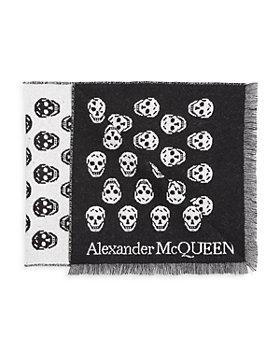 Alexander McQUEEN - Biker Skull Wool Scarf